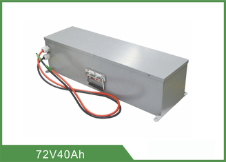 Pollution Free Rechargeable LiFePO4 Battery 72V 40Ah High Energy Density For UPS